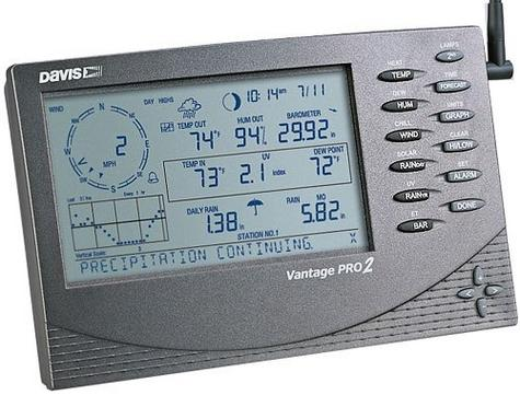 Davis Instruments Vantage Pro 2 Wireless Edition Long Range Weather Station Thumbnail 3