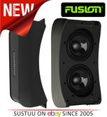 """Fusion AB 206 Marine 6"""" Dual Active Subwoofer Built-in 4 Channel Amp 350W Single"""