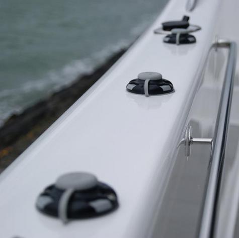 Railblaza StarPort Pair White Surface or Recess Mount on ATV Kayak Boat Garage Thumbnail 2