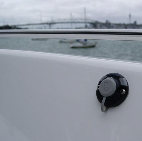Railblaza StarPort Pair White Surface or Recess Mount on ATV Kayak Boat Garage Thumbnail 3