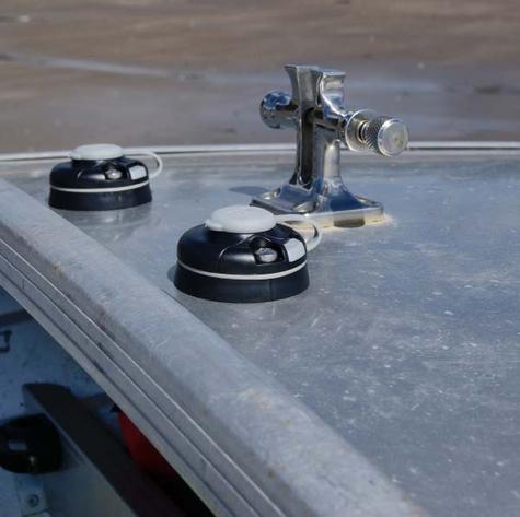 Railblaza StarPort Pair White Surface or Recess Mount on ATV Kayak Boat Garage Thumbnail 4