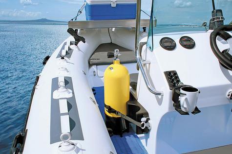 NEW Railblaza RIB Port inc StarPort|Inc 3M VHB Accessory|For Boats & Kayaks|Grey Thumbnail 3