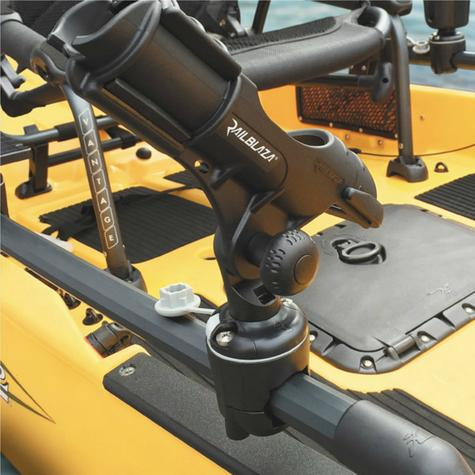 Railblaza RailMount 32-41mm StarPort Combo For Kayak & Fishing Boats Black Thumbnail 3