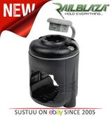 Railblaza RailMount 32-41mm|StarPort Combo|For Kayak & Fishing Boats|Black