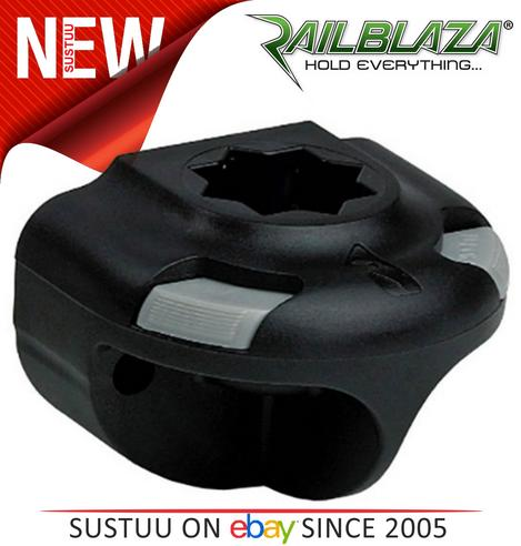 Railblaza SidePort Fishing Accessory Kayak Boat Water Activities - Black Thumbnail 3