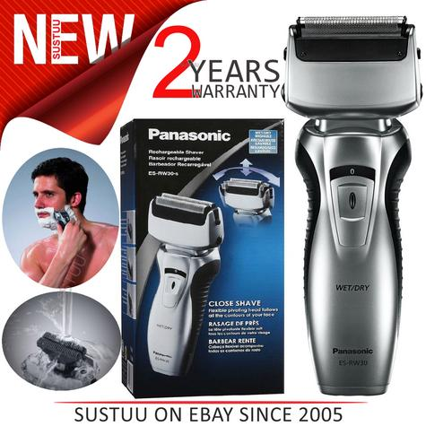 Panasonic ESRW30 Wet/Dry Pro-Curve Men's Shaver?Dual Blade?Washable?Rechargeable Thumbnail 1