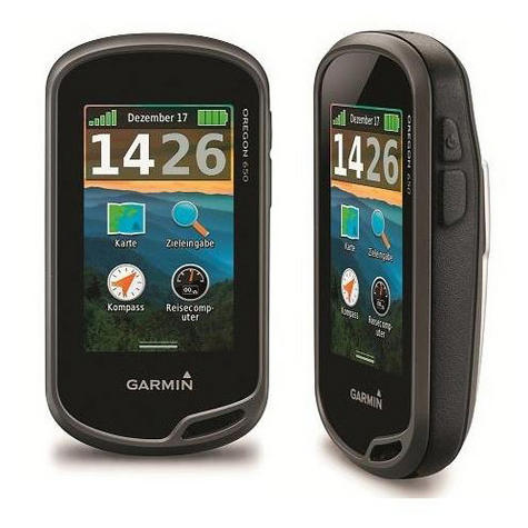 Garmin Oregon 650 Outdoor Handheld GPS & Camera Worldwide Basemap Walking Hiking Thumbnail 1