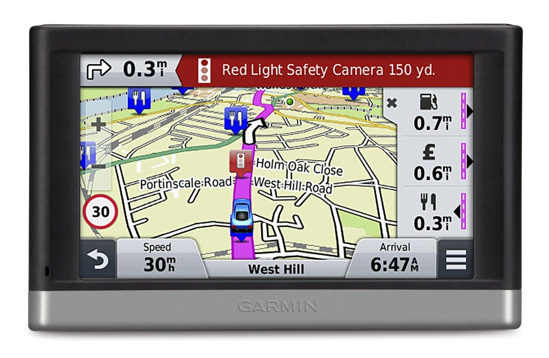 Garmin Nuvi 2468LMT D GPS SATNAV Lifetime UK W Europe Maps Digital 3D T