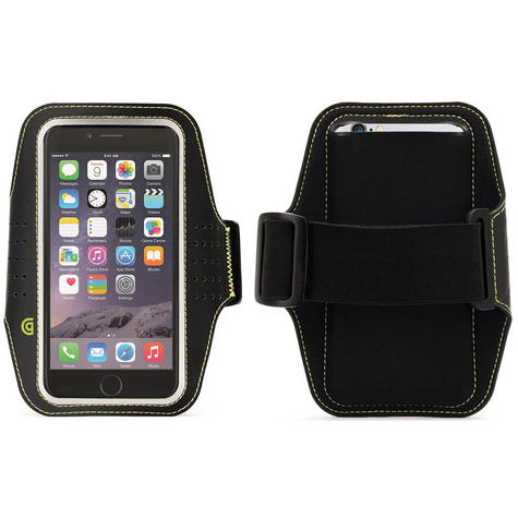 Griffin Trainer Sports Running Armband Case | iPhone 6 6s 7 7s | Black | GB38804 Thumbnail 1