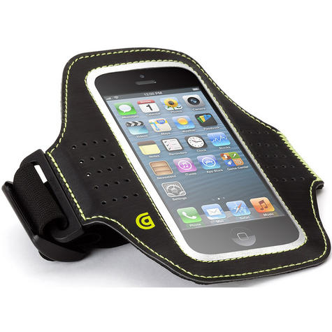 Griffin Trainer Sports Running Armband Case | iPhone 6 6s 7 7s | Black | GB38804 Thumbnail 2