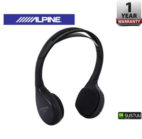 Alpine SHS-N206 Dual Channel Fold-Flat Wireless InfraRed Headphone LED Indicator Thumbnail 1