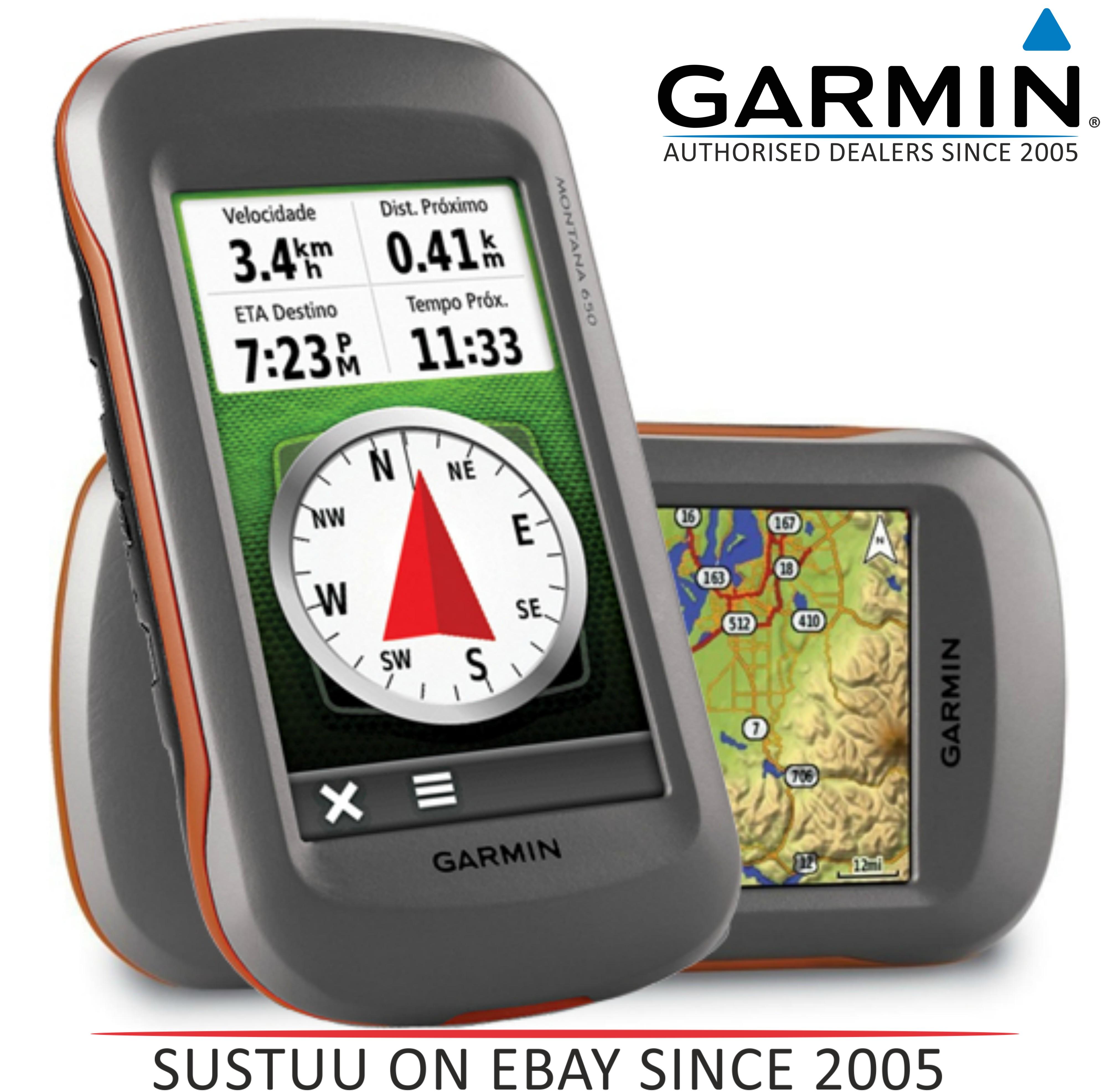 Garmin Montana 650|Outdoor Handheld GPS|Hiking-Marine-Motorbike|Camera|Compass..