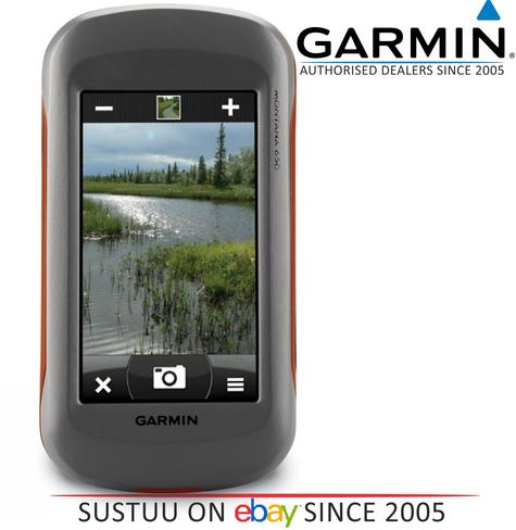 Garmin Montana 650 Outdoor Handheld GPS Hiking-Marine-Motorbike Camera Compass.. Thumbnail 6