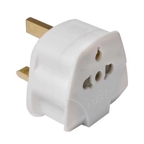 Universal Europe Eu Usa Us Australia Au To Uk 3 Pin Plug