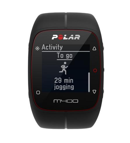 Polar M400 HR GPS Speed & Distance Heart Rate Monitor Watch & Activity Tracker Thumbnail 1