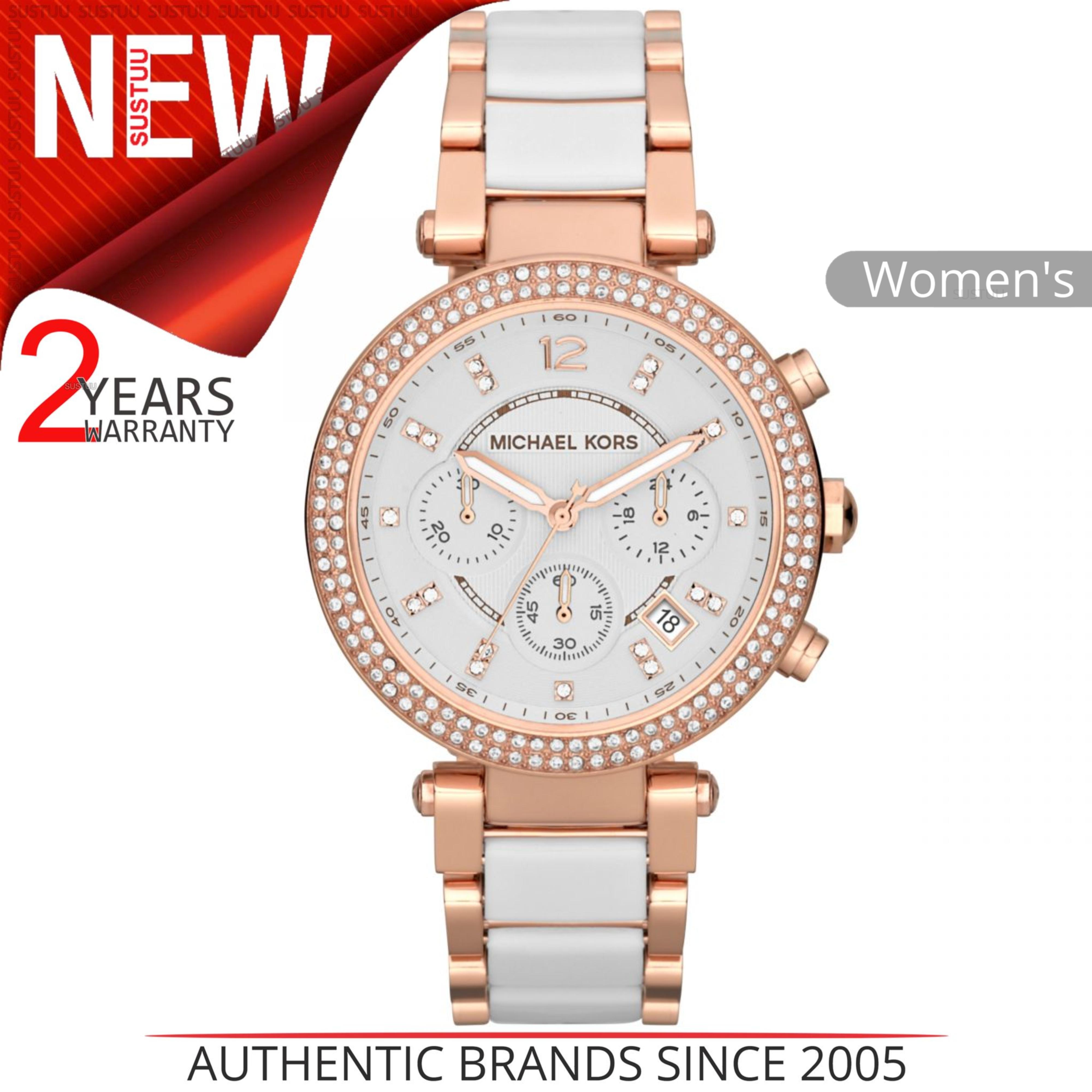Details about Michael Kors Parker Ladies Watch│Chronograph Dial│Dual Tone  Bracelet Band│MK5774 929cab865ee