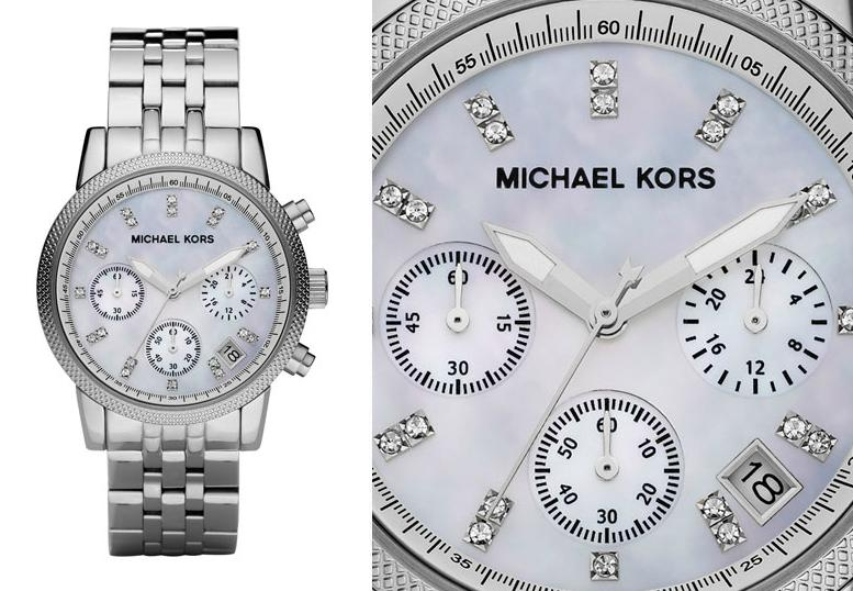 b553bf47e Michael Kors Ladies Ritz Watch|Crystal Hours Dial|Designer Bracelet  Band|MK5020 Thumbnail