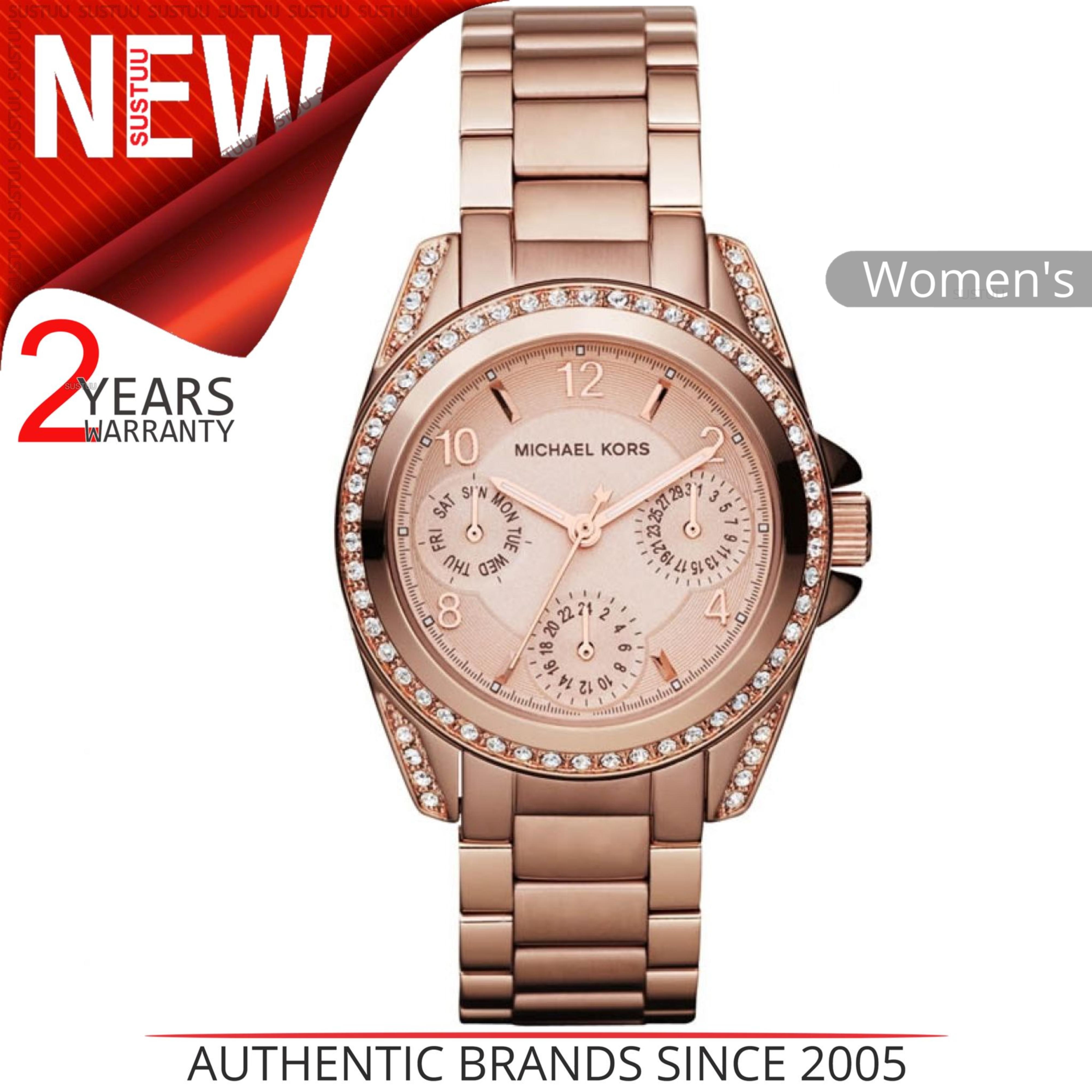 6672e9c0d667 Details about Michael Kors Mini Blair Ladies Watch MK5613│Chronograph  Design│Rose Gold Tone