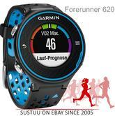 Garmin Forerunner 620 Touchscreen GPS Running SportWatch Tracks Distance-Pace-HeartRate