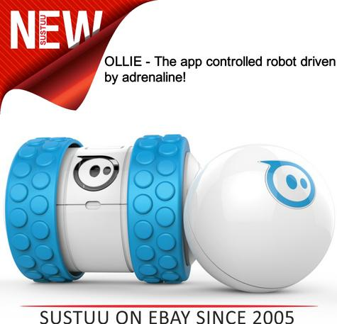 Ollie by Sphero App Controlled Bluetooth Robot Toy for iPad iPhone & Android B/W Thumbnail 1