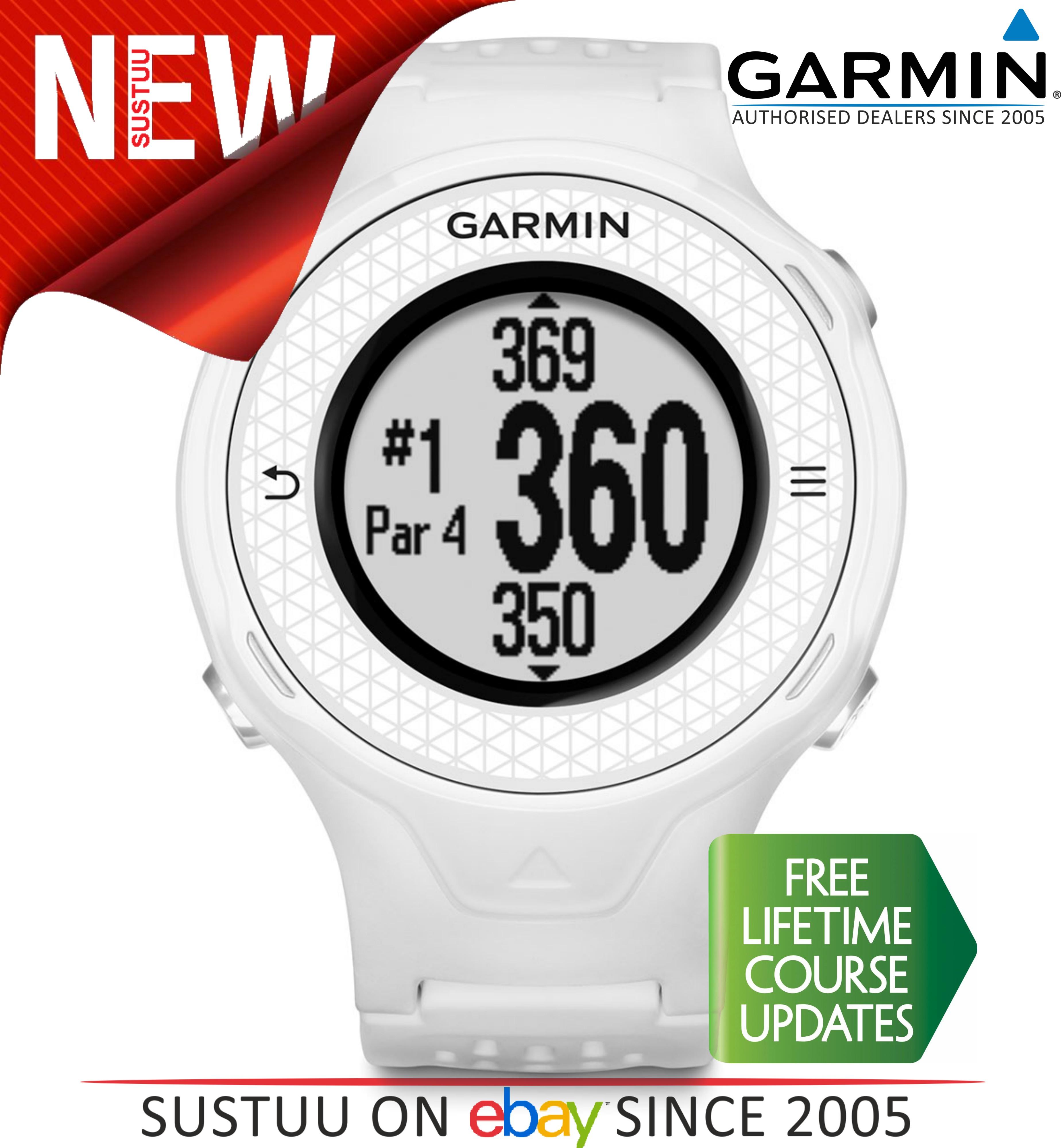 Garmin Approach S4|Golf GPS Rangefinder Watch|White|38000 Worldwide Golf Courses