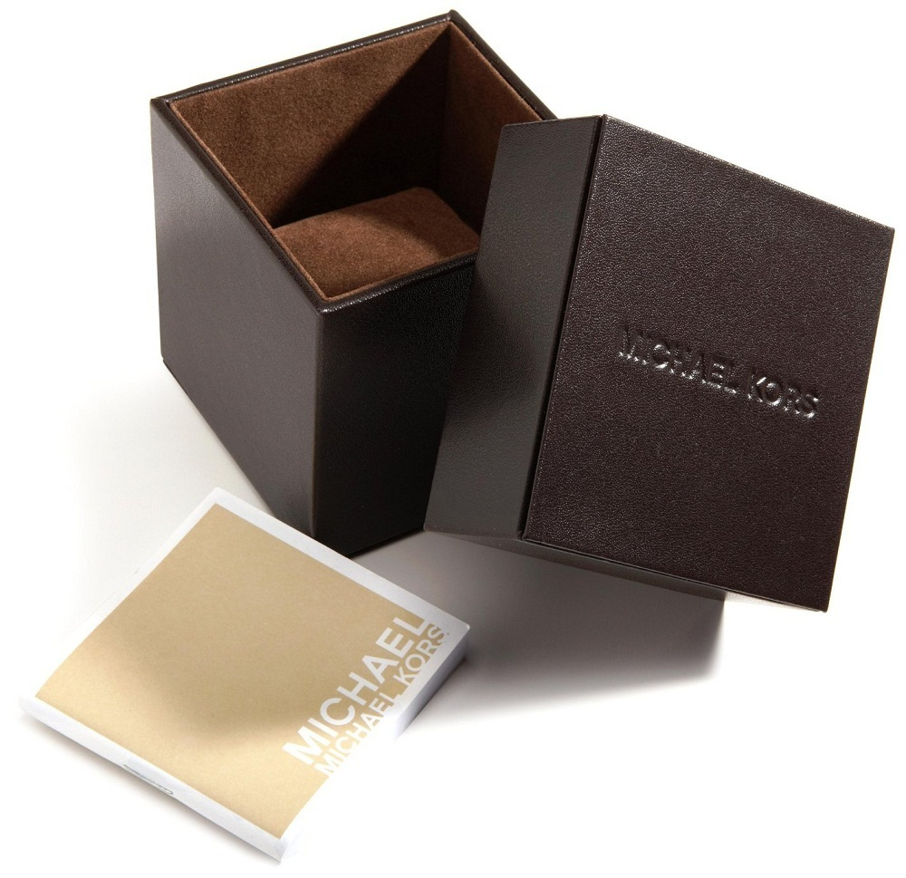 Michael Kors Ladies Dylan Ocean Blue Face Chronograph Designer Watch MK5410  Thumbnail 4