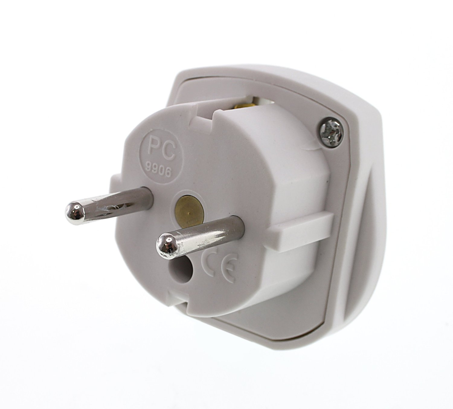 Uk To Europe France Belgium Netherlands Germany 2 Pin Travel Plug Power Adaptor Sustuu