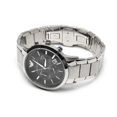 Emporio Armani Men's Stainless Steel Case Chrono Design Bracelet Watch AR2434 Thumbnail 5