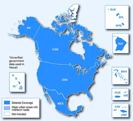Garmin Nuvi 2577LT GPS SATNAV North America USA Canada UK Europe