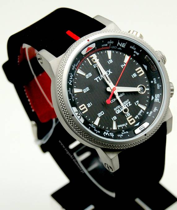 Timex Gent S Iq Adventure Series Outdoors Watch Stainless