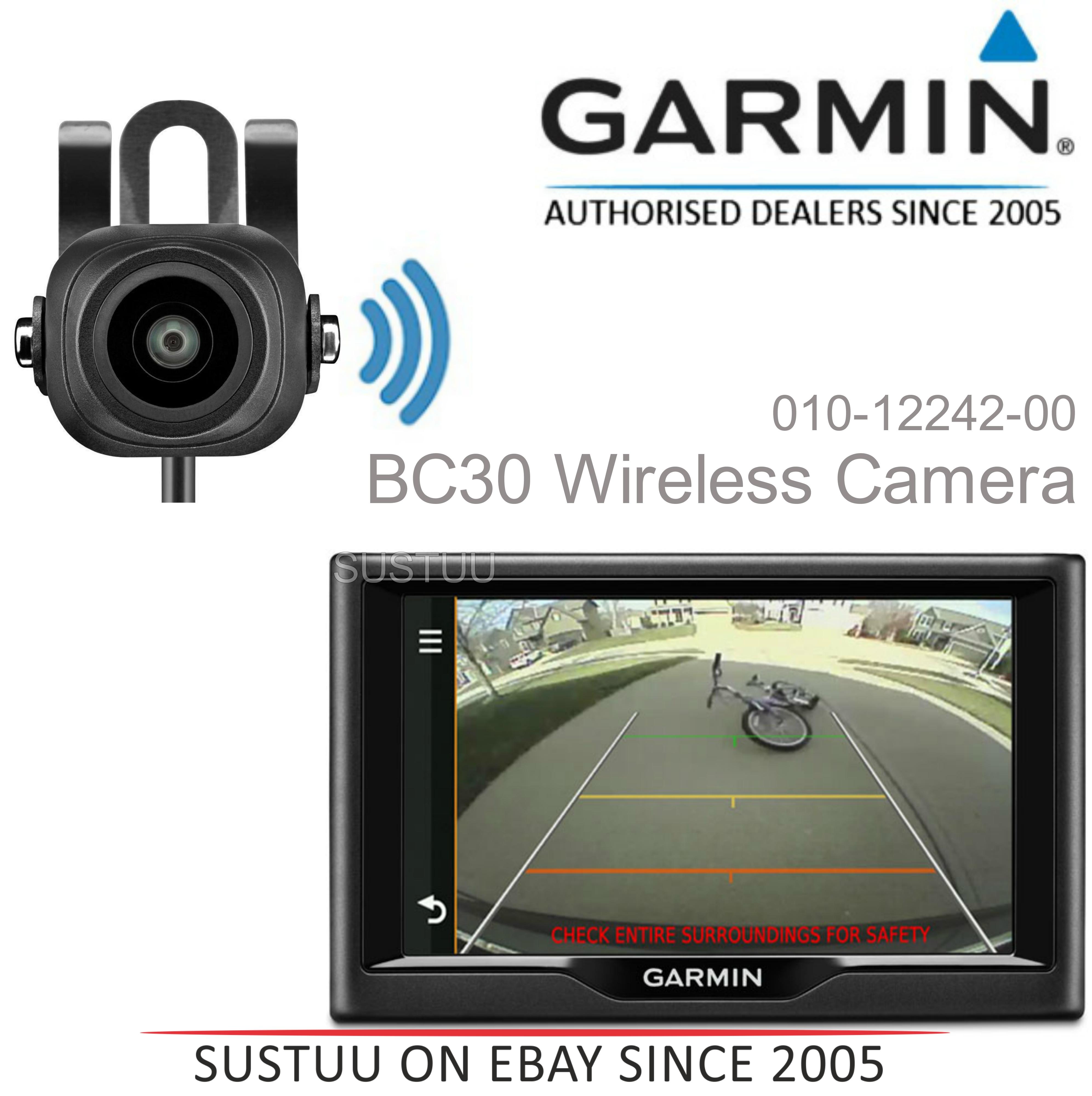 NEW Garmin BC30 Wireless Reversing Backup Camera for Nuvi & Dezl 570 770 SATNAV