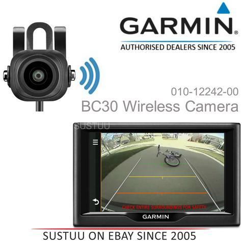 NEW Garmin BC30 Wireless Reversing Backup Camera for Nuvi & Dezl 570 770 SATNAV Thumbnail 1
