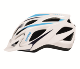 Oxford F21 Tornado Bike Bicycle Crash Helmet White Blue Large Xlarge 590-F21L2