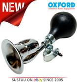 Oxford Loud Bugle Bike Bicycle Cycle Horn Bell Hooter - Sliver Black  - HN632