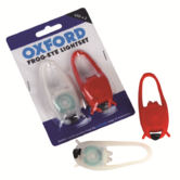 Oxford Frog Light Bike Cycle Front White Twin LED & Rear Red Twin LED 590-LD666