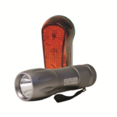 Oxford Ultra Torch Bike Cycle 9 LED Light Set Front Headlight & Rear  590-OF311