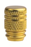 Oxford Bike Cycle Bicycle BMX Valve Cap Gold 590-OF889