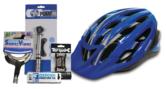 Oxford Cycle Bundle Adult 2 L/XL?Puncture Kit?Multi Tool?Mini Pump - Blue