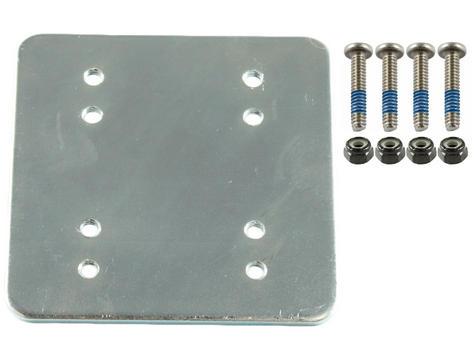 3 x 3 Backer Plate w/ AMPS & 2 x 2.5 with Hardware | RAM-202-225BU | 1 Year Warranty Thumbnail 1