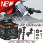 "Official RAM Mounts Motorcycle Yoke Fork Stem Base Mount with 1"" Ball RAM-B-342U"