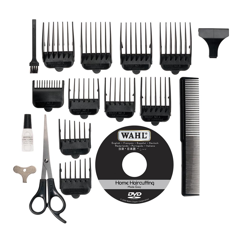 Wahl Deluxe Vogue Mains Hair Clipper-Cutting Machine Kit | Beard Trimmer |  79305-013