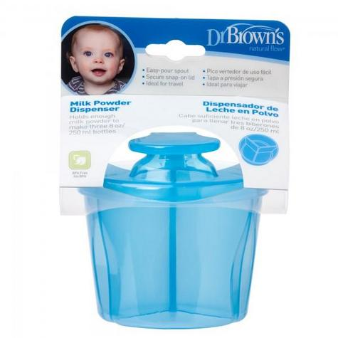 Dr Brown's Infant Easy Travel Storage Baby Milk Powder Dispenser Container Pot  Thumbnail 1