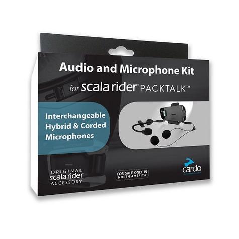 Cardo Scala Rider PACKTALK Audio & Hybrid/Corded Microphone Helmet Kit  Thumbnail 2