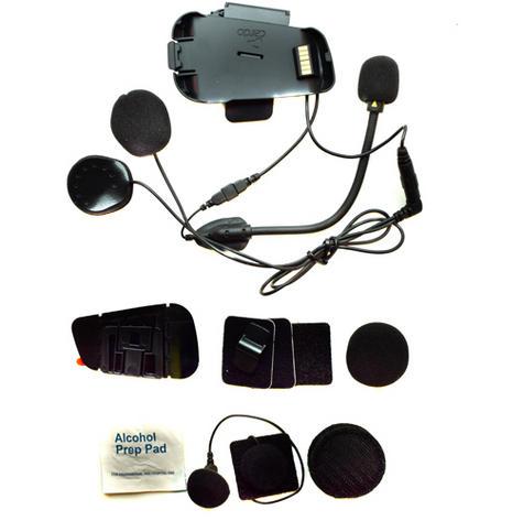 Cardo Scala Rider PACKTALK Audio & Hybrid/Corded Microphone Helmet Kit  Thumbnail 1