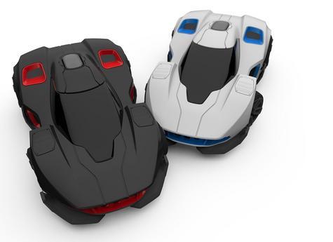 WowWee REV Robotic Smartphone App Controlled AI Battle & Race 2 Car Pack R.E.V Thumbnail 1