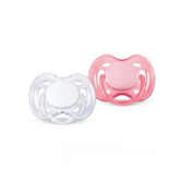 Avent Orthodontic Dummy Pacifier Baby Infant Freeflow Silicone Teat Soother W/P