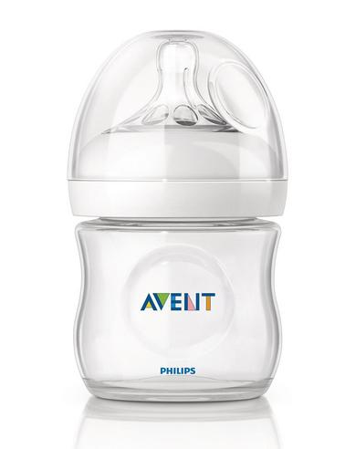 Avent Natural Infant Latch On Anti-Colic Baby Feeding Milk Bottle 125ml  Thumbnail 1