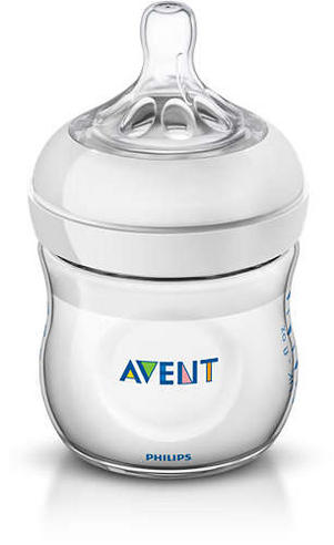 Avent Natural Infant Latch On Anti-Colic Baby Feeding Milk Bottle 125ml  Thumbnail 2