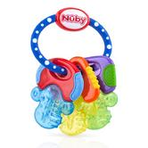 Nuby Baby Nontoxic Comforter Icy Bite Keys Pacifier Early Teething Teether Toy