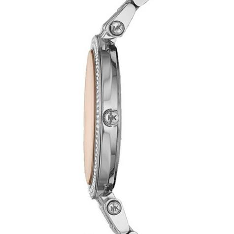Michael Kors Ladies' Darci Glitz Stainless Steel Bracelet Designer Watch MK3218 Thumbnail 3